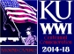 KU WWI Logo images are from the 1918 Jayhawker Yearbook.