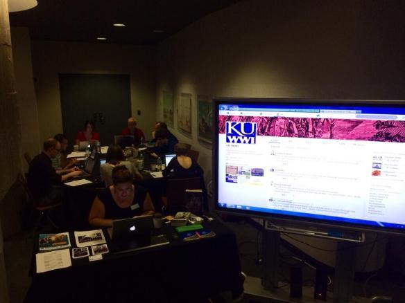 #KU_WWI Live Tweet pic 3